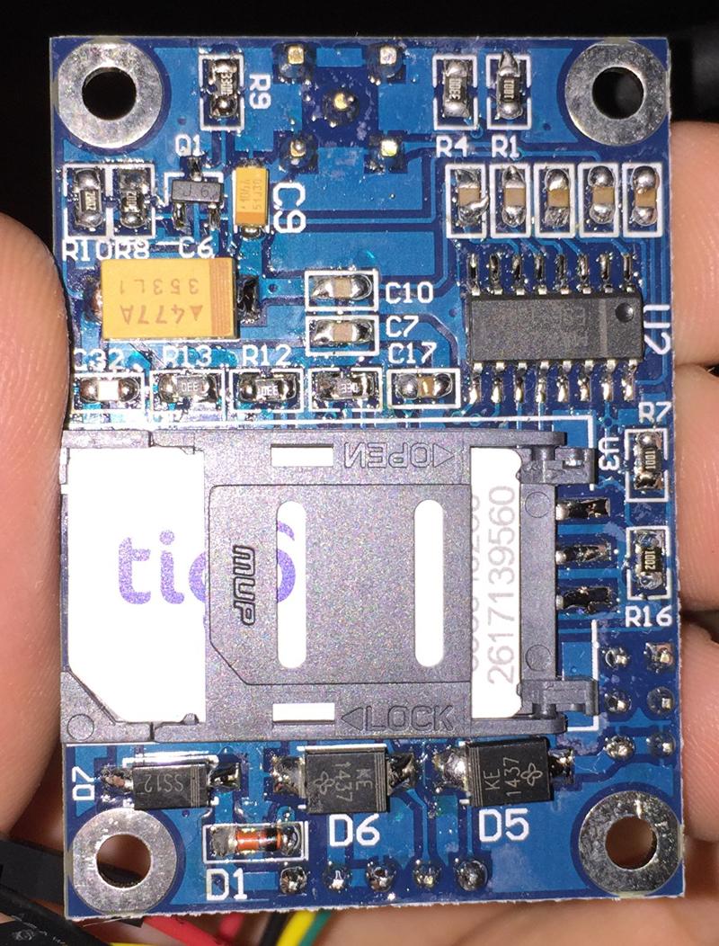 Arduino - SIM900 GSM_GPRS module Santiapps Marcio Valenzuela