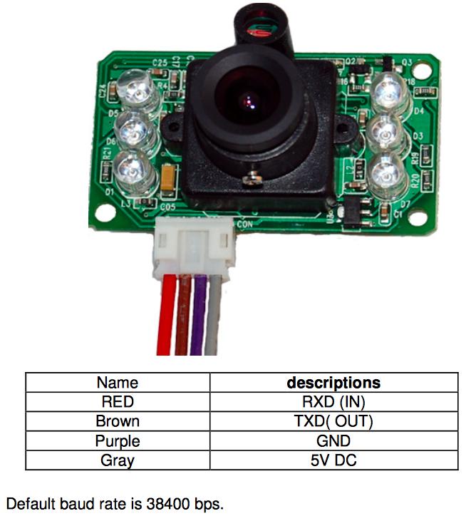 Arduino Tutorial Conexiones Camara JPEG Santiapps Marcio Valenzuela