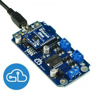 Motor Air Bluetooth Motor Driver Board Arduino Santiapps