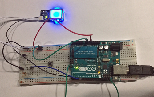 Arduino (IoT) Simple Tutorial Seguridad Biometrica Huella Digital Santiapps Marcio Valenzuela