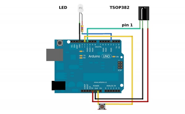 Arduino (IoT) Simple Tutorial Infrarojo (IR) Receptor/Transmisor by Santiapps Marcio Valenzuela