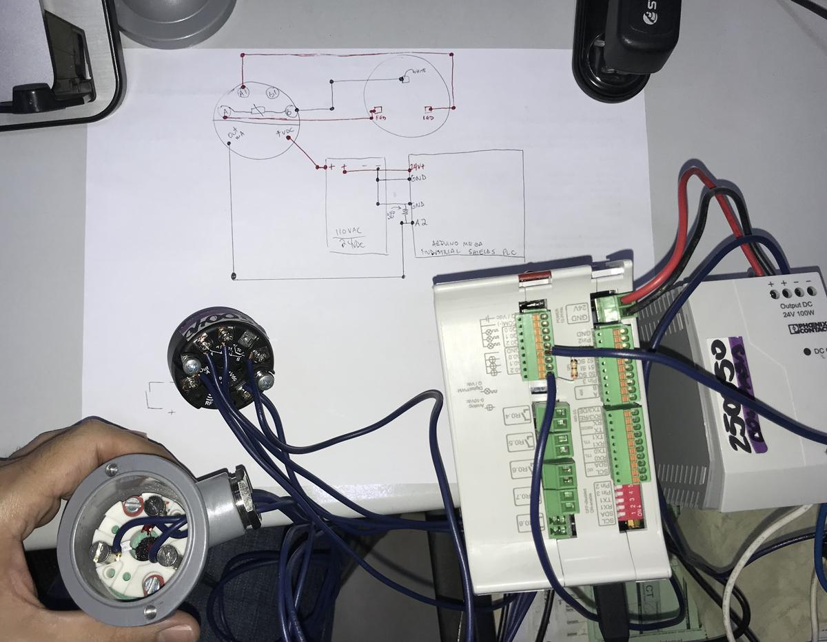 Arduino IoT: RTD PT-100 Sensores Industriales by Santiapps Marcio Valenzuela