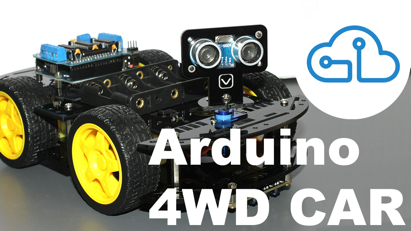 4WD Car Kit Arduino Santiapps Series