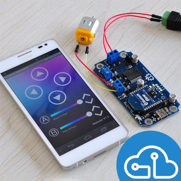 Bluetooth Motor Control Arduino Santiapps