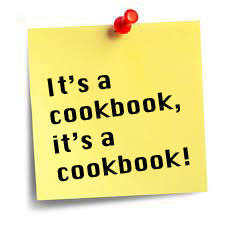 It's a cookbook