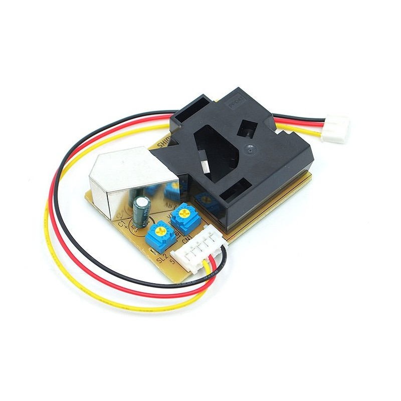 Arduino Grove Dust Sensor de Polvo Tutorial Santiapps Marcio Valenzuela