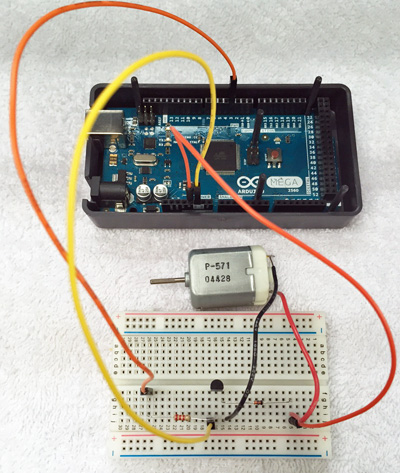 Arduino Motor Tutorial Santiapps Marcio Valenzuela
