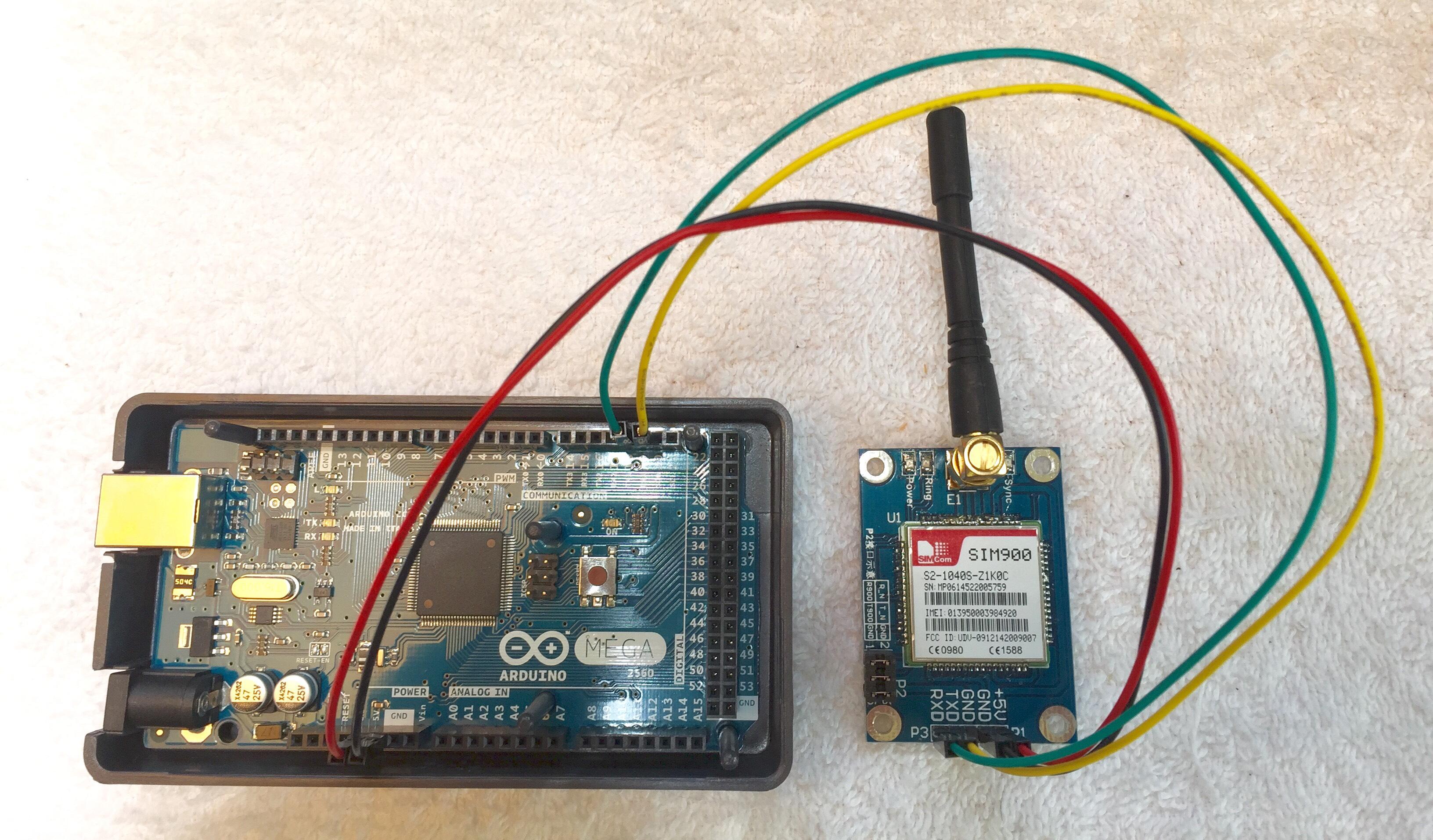 Arduino GSM SIM900 Tutorial Santiapps Marcio Valenzuela