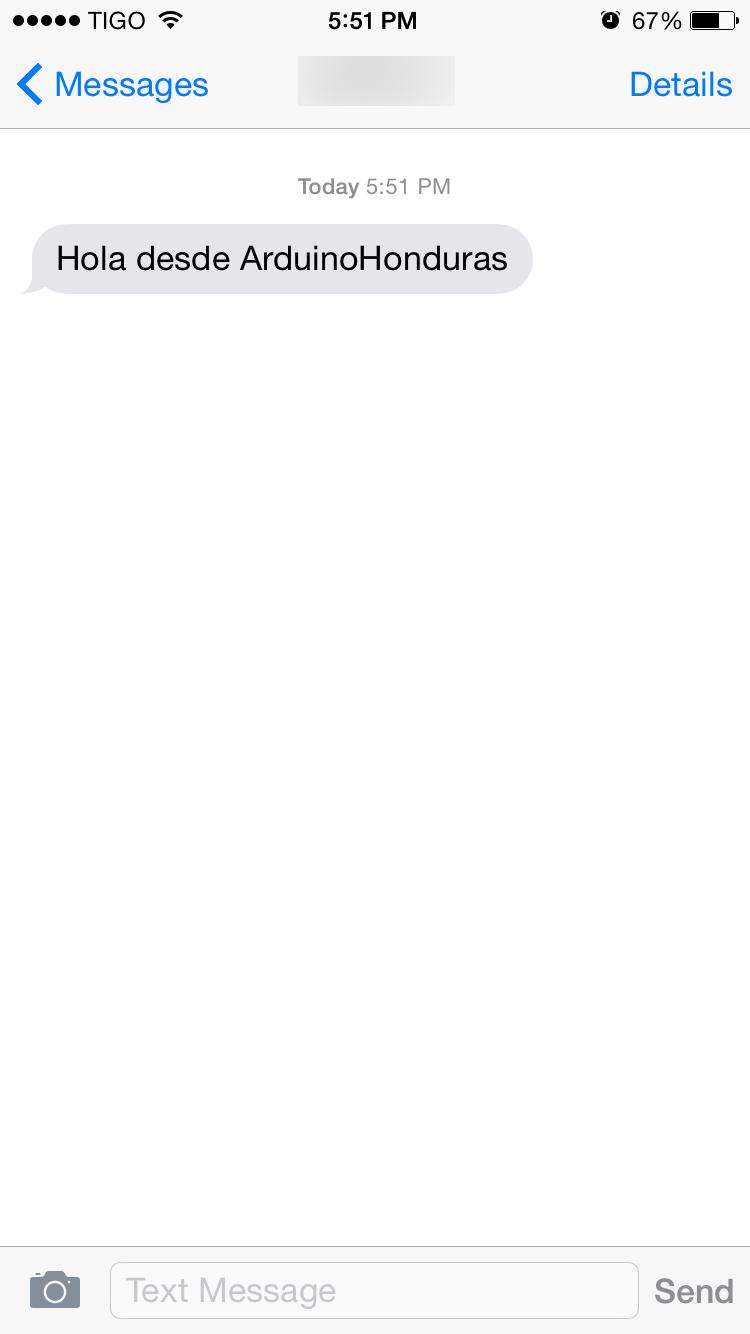 Arduino Tutorial GSM SMS Santiapps Marcio Valenzuela