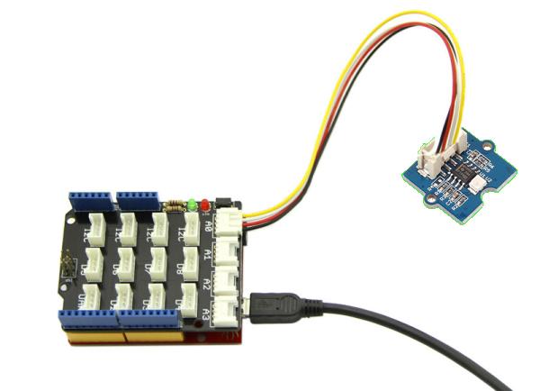 Arduino Simple Tutorial UV Radiation Grove Shield by Santiapps Marcio Valenzuela