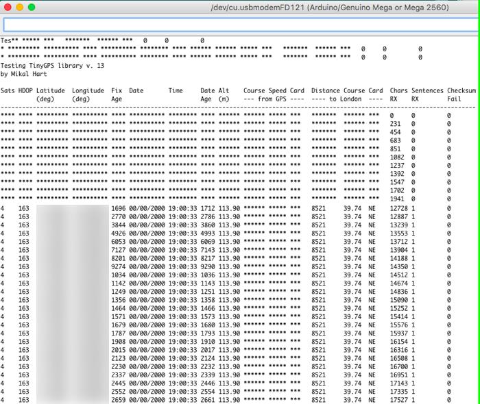 Arduino (IoT): Simple Tutorial GPS Glonass Titan 3 Santiapps Marcio Valenzuela