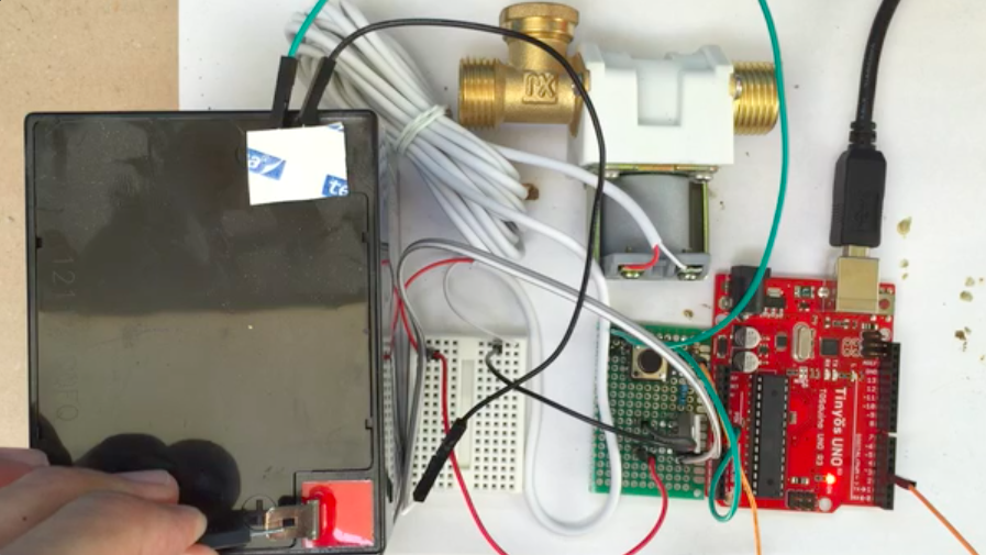 Arduino IoT: Simple Tutorial Solenoide con MOSFET