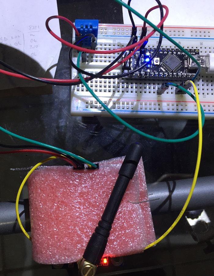 Arduino IoT Proyecto Monitor Remoto Temperatura Humedad Cafe Honduras by Santiapps Marcio Valenzuela