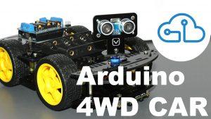 4WD Car Kit Arduino Santiapps Series