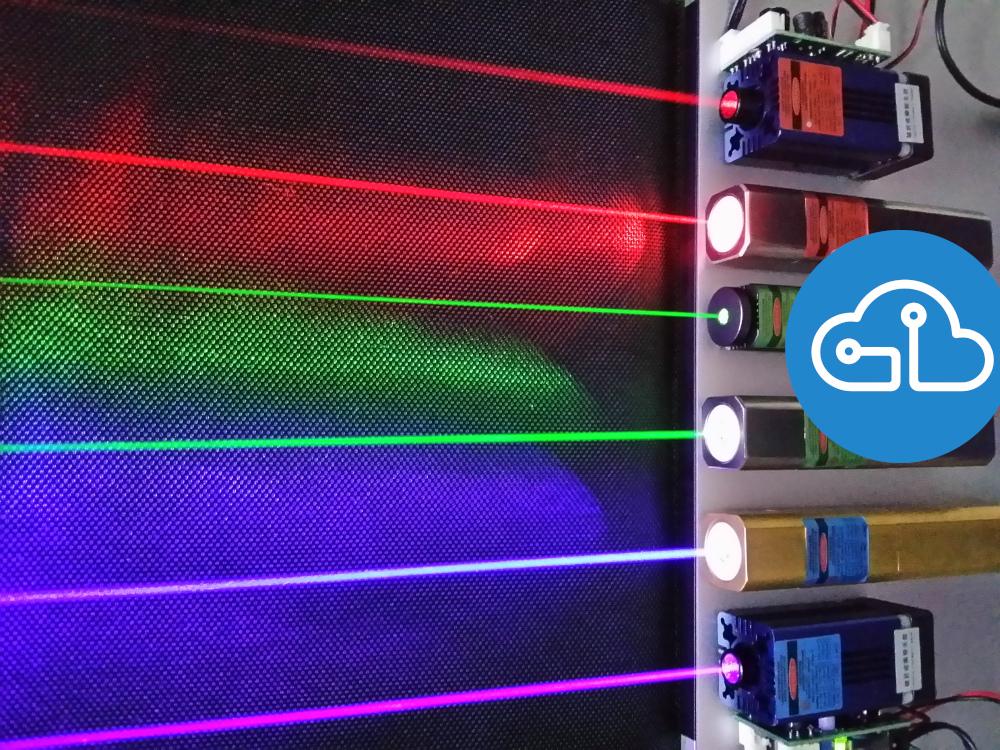 Laser Arduino Santiapps